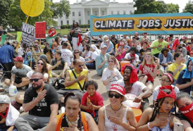More against Trump: Huge climate change marches against President's Policies