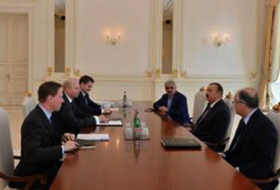 President Ilham Aliyev receives BP Group Chief Executive