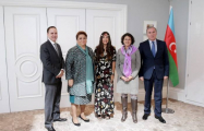 Leyla Aliyeva meets with UNICEF Regional Director