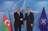 Ilham Aliyev meets with NATO Sec-Gen in Brussels