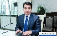 Presidential Assistant Hikmat Hajiyev comments on RIA Novosti's distorted and biased report