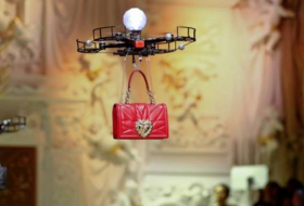 Dolce & Gabbana sent purses down runway with drones at Milan fashion show - NO COMMENT