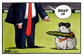 Will North Korea agree to drop its nuclear program? - CARTOON