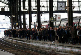 French public sector, rail workers strike in test for Macron