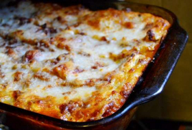 How to eat: lasagne