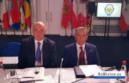 Ramiz Mehdiyev and Fuad Alasgarov attend security conference in Sochi