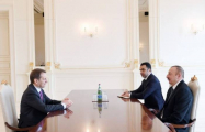 President Ilham Aliyev receives Russian foreign intelligence chief
