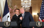 Macron pitches new Iran deal to sweeten existing agreement for Trump