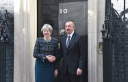 Azerbaijani President meets with UK Prime Minister - PHOTOS