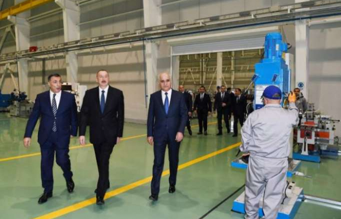 "Azerbaijani President attends opening of high tension equipment plant in Baku - <span style=""color: #ff0000;"">UPDATED, PHOTOS</span>"