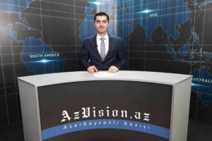 AzVision TV releases new edition of news in English for May 18-VIDEO