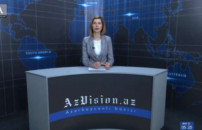 "AzVision TV releases new edition of news in English for May 21 - <span style=""color: #ff0000;"">VIDEO</span>"