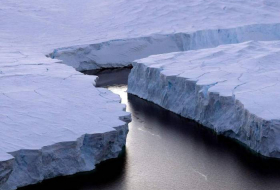 Antarctica's rapidly rising bedrock could slow down ice sheet melting