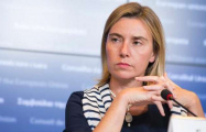 Mogherini: EU supports Minsk Group's mediation efforts for Karabakh settlement