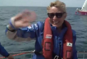 Woman wins round-the-world yacht race for the first time