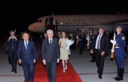 Italian president arrives in Azerbaijan on official visit - PHOTO