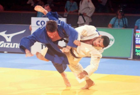 Azerbaijani fighters take two golds at European Judo Cup