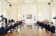 Presidents of Azerbaijan and Italy make press statements- UPDATED