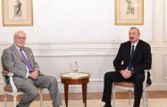 President Ilham Aliyev meets with Chairman of Rothschild and Co company in Paris