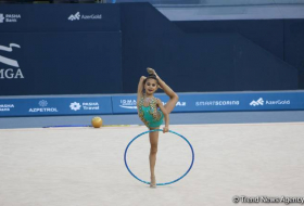 Azerbaijan and Baku Rhythmic Gymnastics Championships start