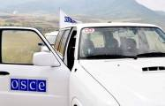 OSCE to monitor Azerbaijan-Armenia state border