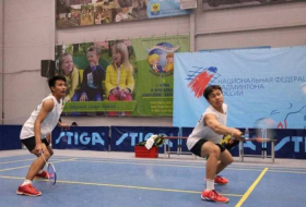 Azerbaijani badminton duo to compete at Eurasia Bulgarian Open Championship