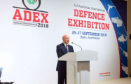 ADEX 2018 - 3rd Azerbaijan International Defence Exhibition launched - PHOTOS