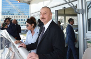 President Ilham Aliyev, Mehriban Aliyeva attend opening ceremony of world judo championship - UPDATED