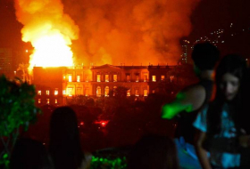 Smoldering Remains of Brazil's National Museum - In PHOTOS