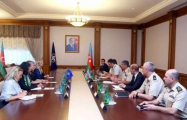 Zakir Hasanov meets with NATO's Deputy Secretary General