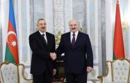 Presidents of Azerbaijan, Belarus hold one-on-one meeting