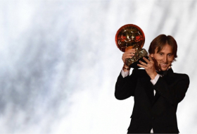 Luka Modric wins Ballon d'Or 2018 ahead of Cristiano Ronaldo