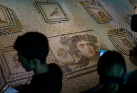 Gypsy Girl: Missing mosaic pieces returned to Turkey