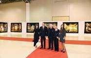President Ilham Aliyev views exhibition marking 90th anniversary of People's Artist Tahir Salahov