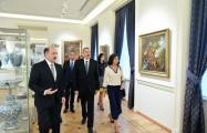 Azerbaijani president inaugurates building of National Museum of Art after overhaul