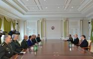 President Ilham Aliyev receives delegation led by Chief of Iranian General Staff - UPDATED