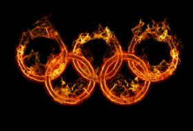 What do the olympic rings and flame represent?-  iWONDER