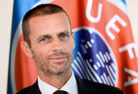 Ceferin re-elected unopposed as UEFA President