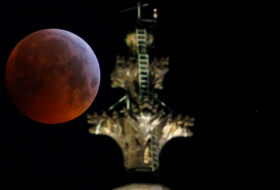 What was the mysterious object that hit the 'Super Blood Wolf Moon'?-  iWONDER