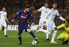 Barca and Madrid draw 1-1 in first leg of Copa del Rey semi-final