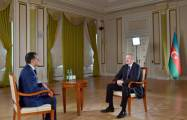 "President Ilham Aliyev: Today, ""might is right"" principle prevails in the world"