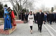 President Ilham Aliyev joins nationwide Novruz festivities