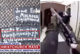 New Zealand shooter's rifle features a note in Armenian -   VIDEO