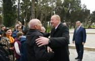 President Ilham Aliyev, First Lady view conditions created at newly-reconstructed park - UPDATED, PHOTOS