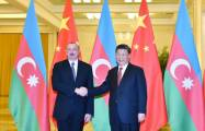 President Ilham Aliyev meets Chinese leader Xi Jinping - UPDATED