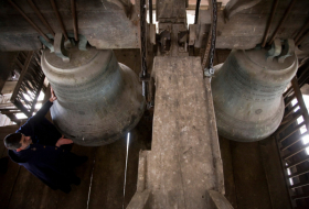 French cathedrals' bells to ring for Notre-Dame on April 17