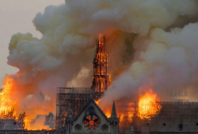 Notre Dame was '15 to 30 minutes' away from complete destruction