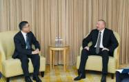 President Ilham Aliyev met with Huawei chairman in Beijing -  UPDATED