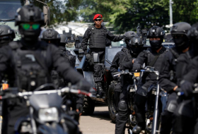 Indonesia tightens security ahead of presidential race result