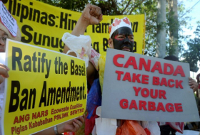 Philippines recalls its envoys in Canada over tons of rotting garbage